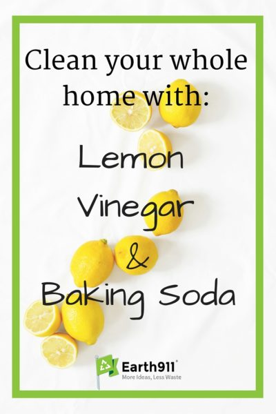 People have been cleaning with household staples like lemons, vinegar and baking soda for a long time. These natural cleaners are safe and effective. If you clean with these items, you will buy fewer products, spend less money and have fewer harsh chemicals to worry about.