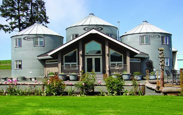 Grain Silo Bed & Breakfast. Photo Abbey Road Farm