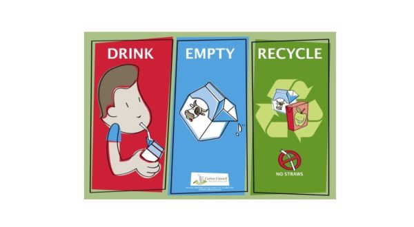 drink-empty-recycle: carton recycling poster