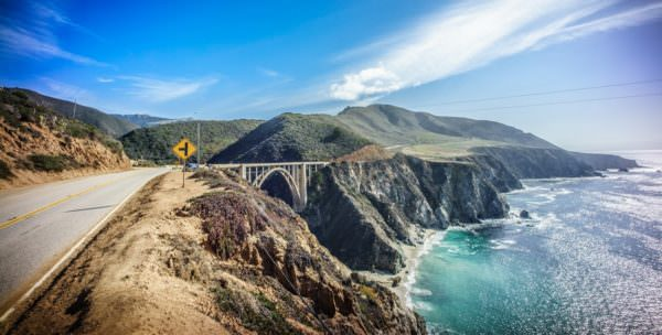 Bixby Bridge, Big Sur, California, United States - Landscape photography
